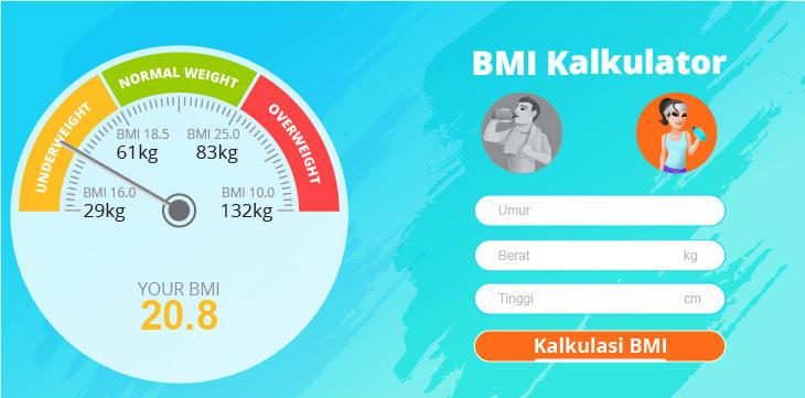 Solusi SehatQ, Tes Kesehatan dengan Kalkulator BMI